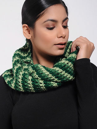 Green Wool Loop