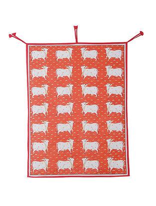 Dhenu' Pichhwai Mix Media on Cotton (47in x 53in)