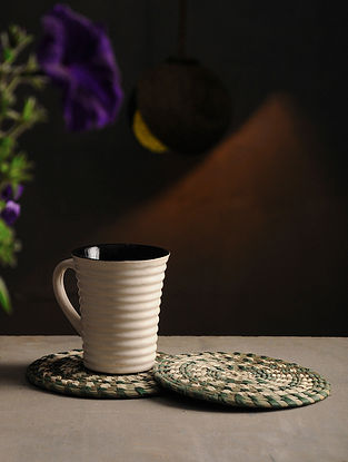 Sabai Grass Handcrafted Coaster (Set of 2) (6in x 6in)