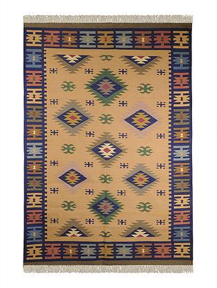 Multi-Color Cotton Punja Durrie 72in x 48in