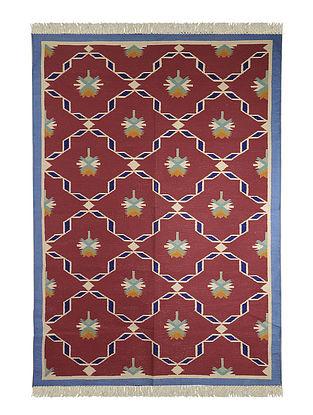 Multi-Color Cotton Punja Durrie 70in x 51in