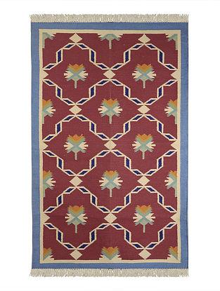 Multi-Color Cotton Punja Durrie 58in x 38in