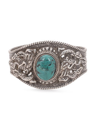 Turquoise Tribal Silver Cuff