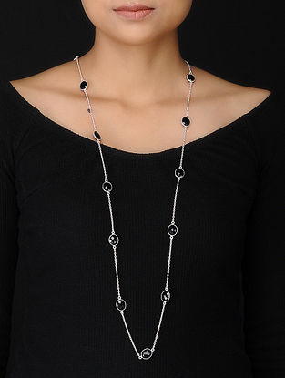 Black Silver Necklace