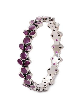 Pink Silver Bangle (Bangle Size: 2/6)