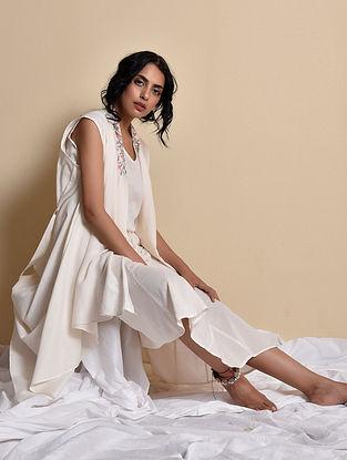 Chandhni Kani Ghera Dress with Jacket (Set of 2)