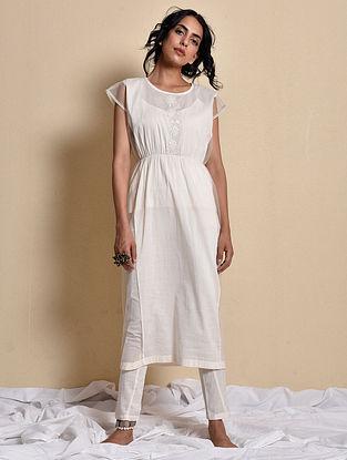 Chandhni Bobin Dress with Inner and Pants (Set of 3)