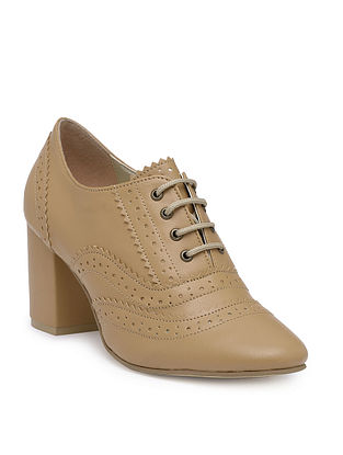 Tan Handcrafted Brogues