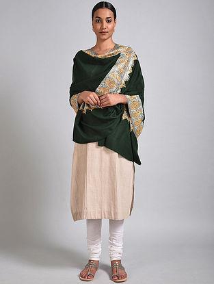 Black Tilla Embroidered Pashmina Shawl