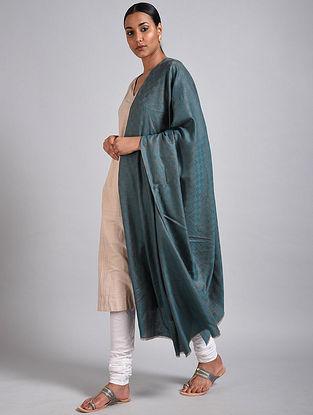 Blue-Grey Pashmina Shawl