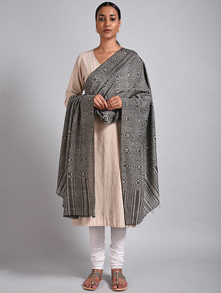 Grey Pashmina Shawl