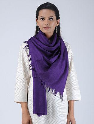 Purple Pashmina/Cashmere Stole