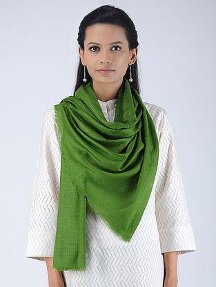 Green Pashmina/Cashmere Stole
