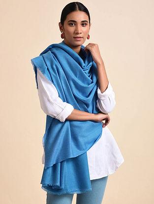 Blue Handwoven Pashmina Shawl