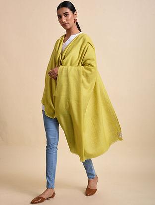 Yellow Handwoven Pashmina Shawl