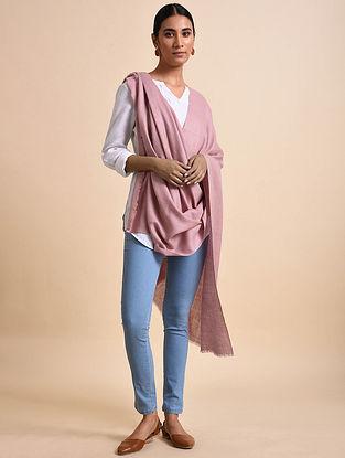 Pink Handwoven Pashmina Shawl