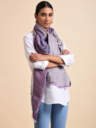 Purple Handwoven Pashmina Shawl