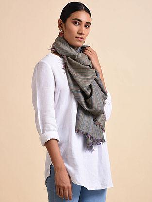 Grey Handwoven Pashmina Shawl