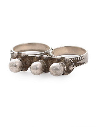 Tribal Silver Ring (Ring Size -14)