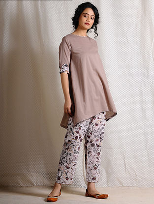 Brown Cotton Tunic