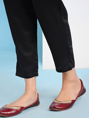 SIRDARYO - Black Elasticated Waist Modal Pants