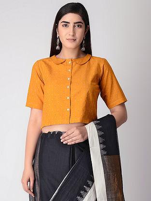 Yellow Cotton Ikat Blouse
