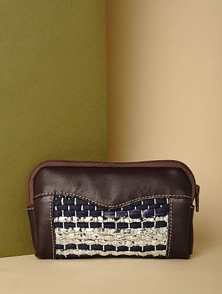 Brown Handcrafted Leather Pouch