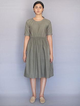 Sage Green Cotton Dress