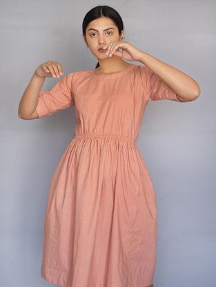 Burnt Pink Cotton Dress