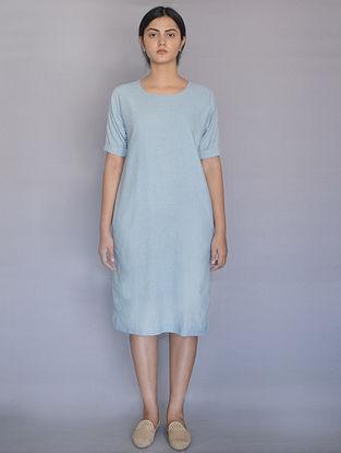 Powder Blue Cotton Dress