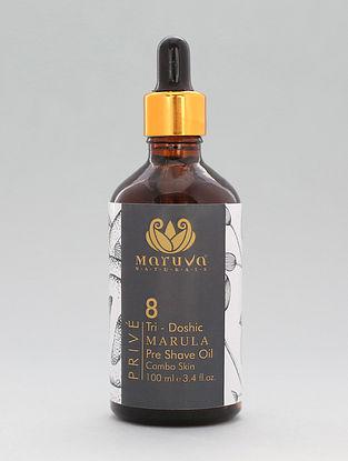 Prive Tridoshic Marula Pre-Shave Oil (100ml)