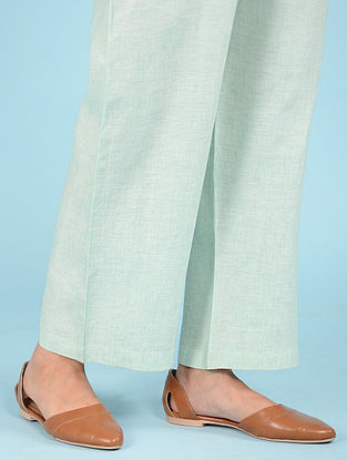 Aqua Elasticated waist Linen Pants