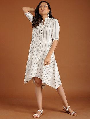 Jen Ivory Linen Dress