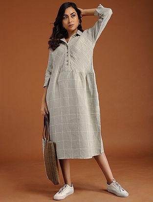 Allie Ivory Linen Dress