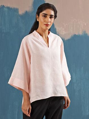 Kaiya Zen Blush Linen Top