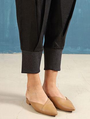 Zendo Black Linen Crop Pants