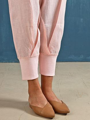 Zendo Blush Linen Crop Pants