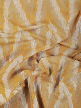 Musatrd Handloom Ikat Cotton Fabric