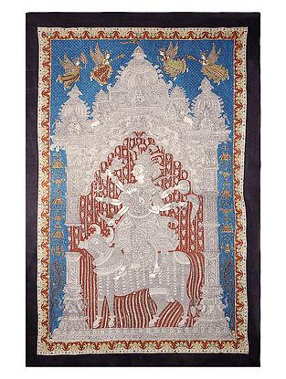 Sagat Mata Mata Ni Pachedi Kalamkari Artwork - 84in x 56in