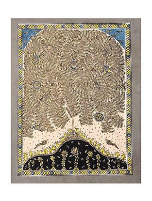 Tree of Life Mata Ni Pachedi Kalamkari Artwork - 32in x 26in