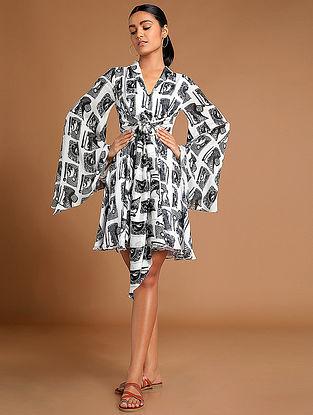White Shadow Short Dress