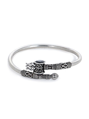 Black Silver Cuff