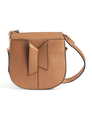 Brown Handcrafted Genuine Leather Sling Bag