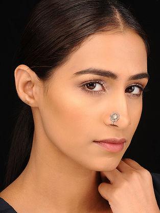 Tribal Silver Nose Clip