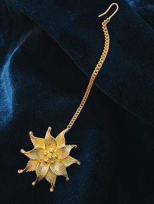 Gold Plated Handcrafted Maangtikka