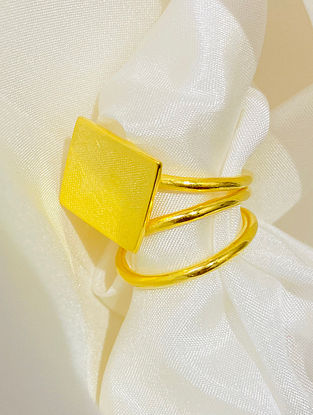 Gold Plated Handcrafted Ring