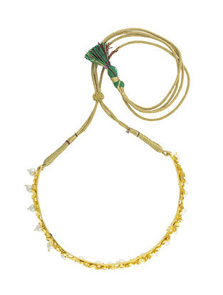 Gold Plated Handcrafted Necklace