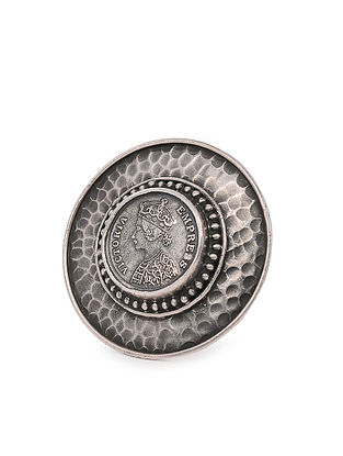 Tribal Silver Ring (Ring Size: 7.5)