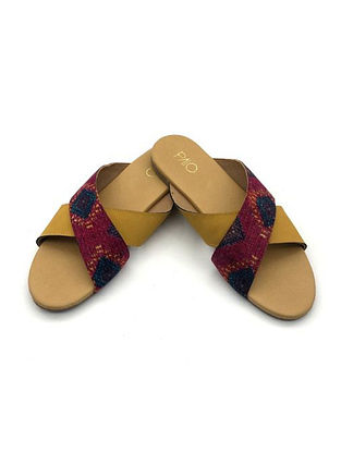 Multicolored Handcrafted Flats