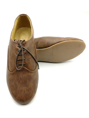Brown Handcrafted Shoes
